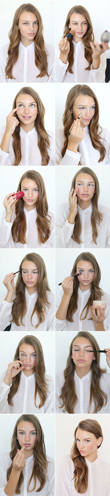 15-Easy-Natural-Make-Up-Tutorials-2014-For-Beginners-Learners-13