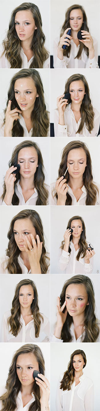 15-Easy-Natural-Make-Up-Tutorials-2014-For-Beginners-Learners-14
