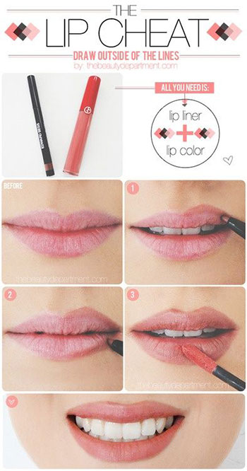 15-Easy-Natural-Make-Up-Tutorials-2014-For-Beginners-Learners-6