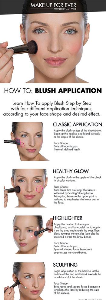 Face Make Up Tutoril 100proadru