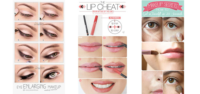 15 Easy Natural Make Up Tutorials 2014 For Beginners Learners Modern Fashion Blog