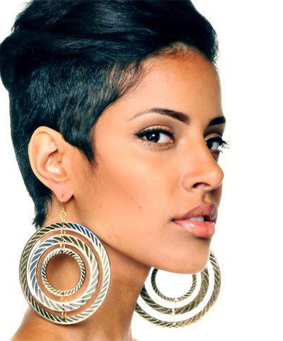 Black Short Hairstyles for Black Women 2014