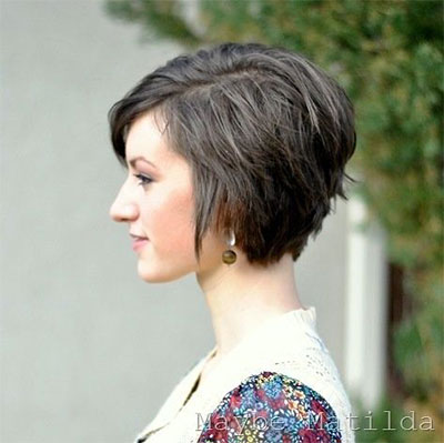 20 Short Curly Bob Haircut Styles For Girls Women 2014