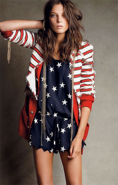 Jul 02,  · Fourth of July fashion: 40 ways to sport your stars and stripes in style Sara M Moniuszko, USA TODAY Published p.m. ET July 2, Ariana Grande at the Grammy Awards on Feb. 15, in Los Angeles.