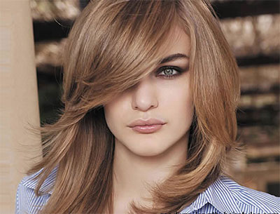 25-Modern-Medium-Length-Haircuts-With-Bangs -Layers-For-Thick Hair-Round-Faces-2014-1
