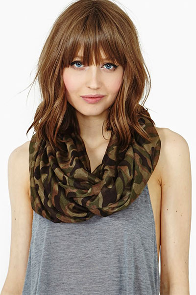 25-Modern-Medium-Length-Haircuts-With-Bangs -Layers-For-Thick Hair-Round-Faces-2014-12