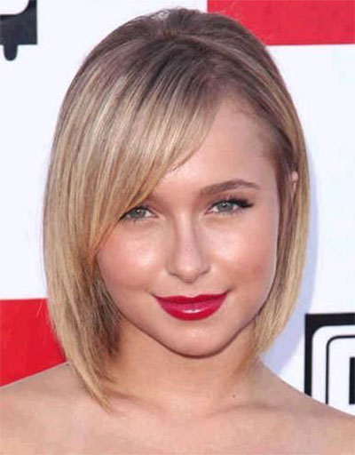 25-Modern-Medium-Length-Haircuts-With-Bangs -Layers-For-Thick Hair-Round-Faces-2014-18
