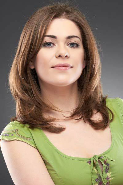 length layered haircuts for thick hair 25 modern medium length haircuts with bangs layers for 6126