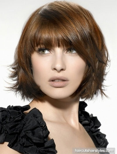 Super 25 Short Bob Haircut Styles With Bangs Amp Layers For Girls Amp Women Hairstyle Inspiration Daily Dogsangcom