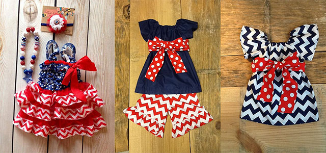 ff526718f459 30 + Fourth Of July Outfits For Kids   Little-girls 2014
