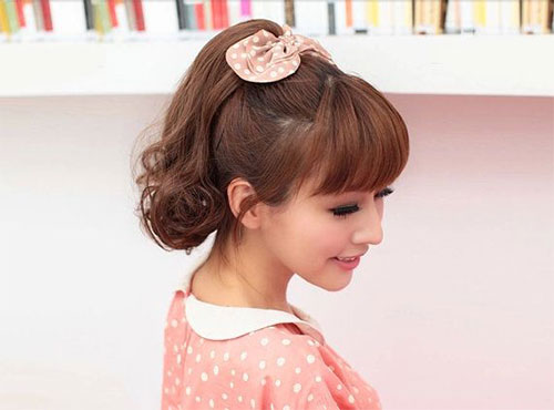 12-Simple-Hair-Accessories-Ponytail-For-Teenage-Girls -Women-2014-7