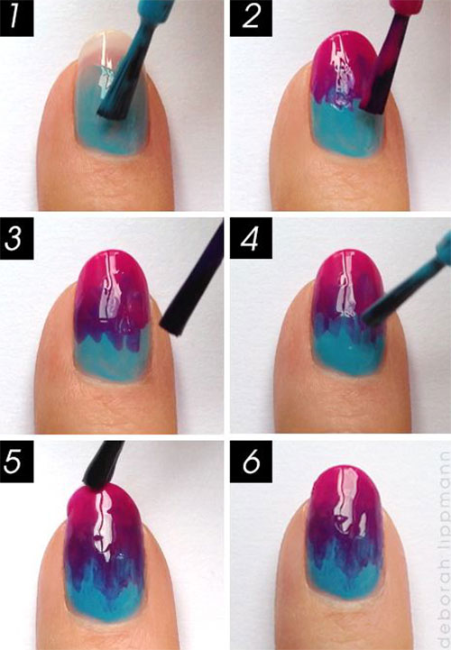 25 Easy Step By Step Nail Art Tutorials For Beginners & Learners ...