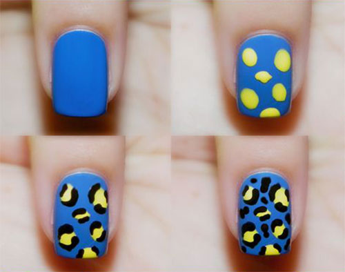 25-Easy-Step-By-Step-Nail-Art-Tutorials-For-Beginners-Learners-2014-15