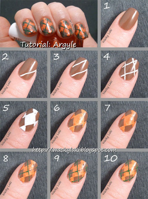 25-Easy-Step-By-Step-Nail-Art-Tutorials-For-Beginners-Learners-2014-17