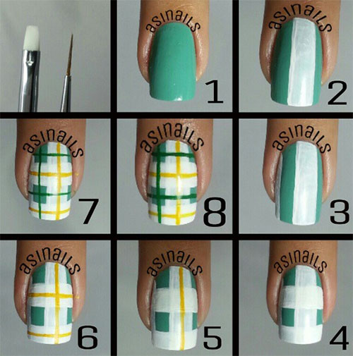 25-Easy-Step-By-Step-Nail-Art-Tutorials-For-Beginners-Learners-2014-18