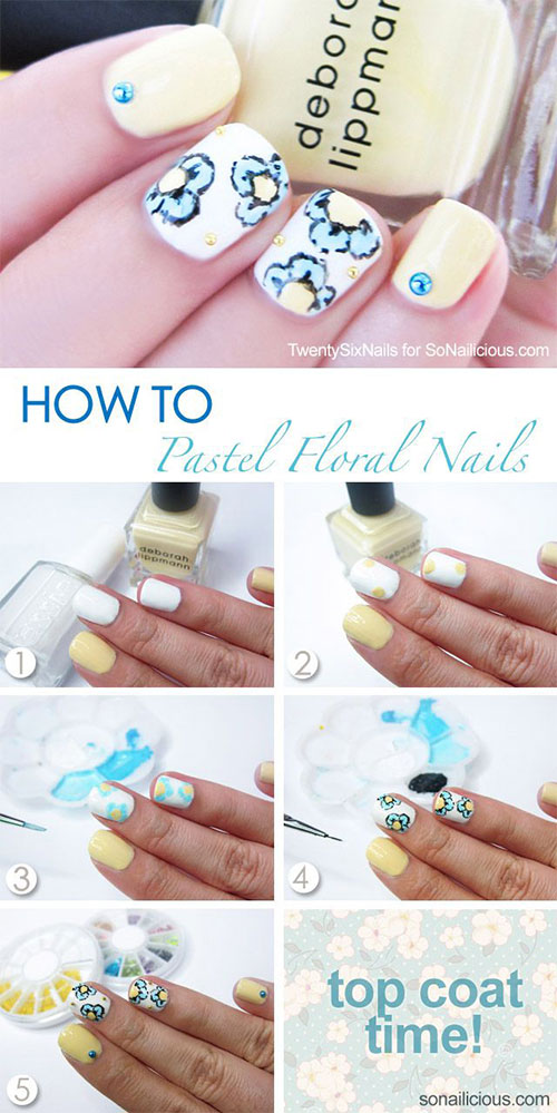 25-Easy-Step-By-Step-Nail-Art-Tutorials-For-Beginners-Learners-2014-2