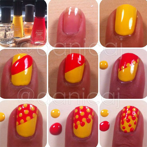 25-Easy-Step-By-Step-Nail-Art-Tutorials-For-Beginners-Learners-2014-20