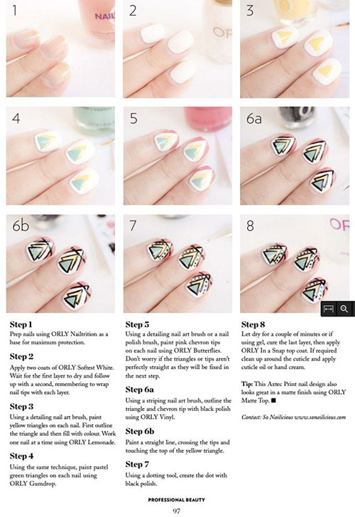 25-Easy-Step-By-Step-Nail-Art-Tutorials-For-Beginners-Learners-2014-23