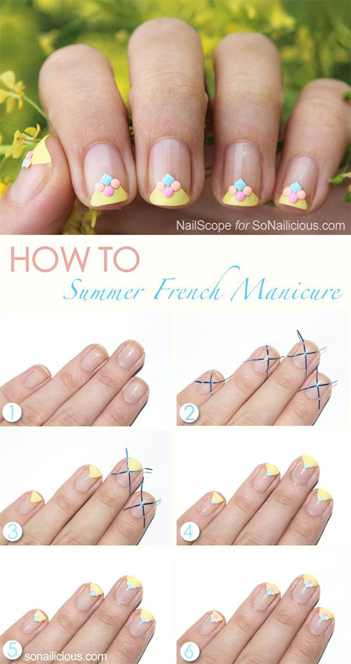 25-Easy-Step-By-Step-Nail-Art-Tutorials-For-Beginners-Learners-2014-5