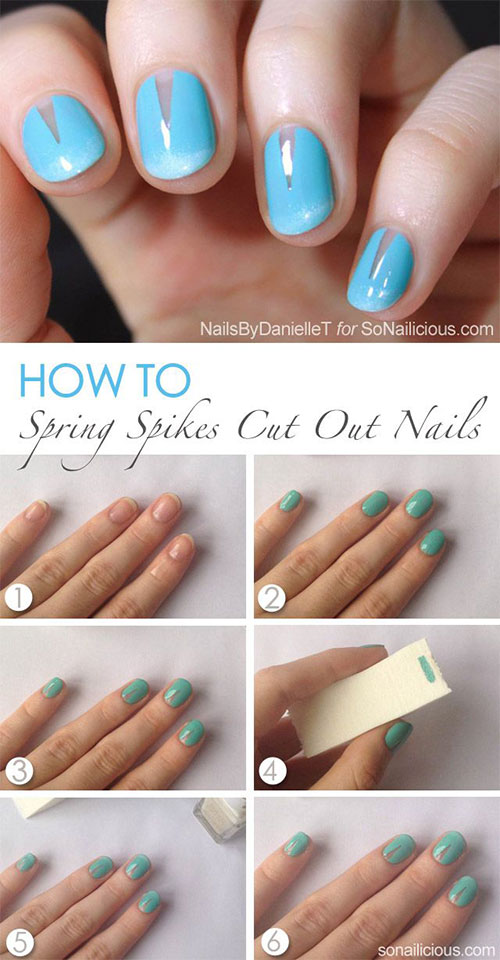 25-Easy-Step-By-Step-Nail-Art-Tutorials-For-Beginners-Learners-2014-7
