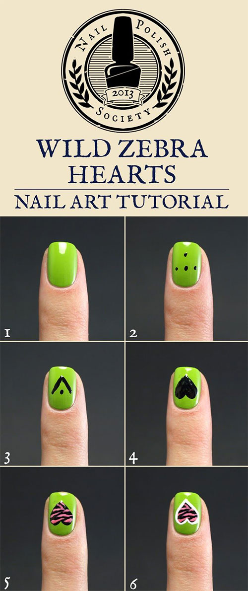 25-Easy-Step-By-Step-Nail-Art-Tutorials-For-Beginners-Learners-2014-8