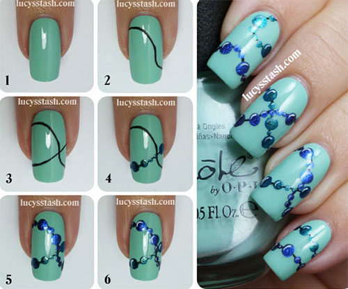 10-Easy-Acrylic-Nail-Art-Tutorials-For-Beginners-Learners-2014-1