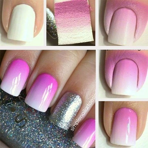 Easy To Do Nail Art: 10 + Easy Acrylic Nail Art Tutorials For Beginners