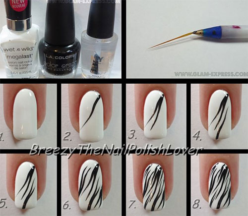 10 easy acrylic nail art tutorials for beginners learners 2014 10 easy acrylic nail art tutorials for beginners prinsesfo Gallery