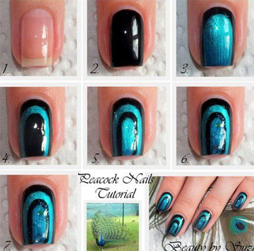 10-Easy-Acrylic-Nail-Art-Tutorials-For-Beginners-Learners-2014-4