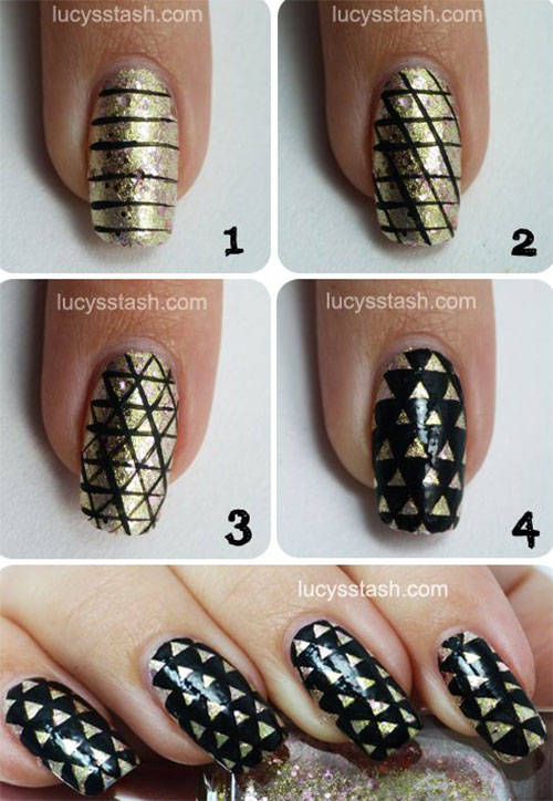 10-Easy-Acrylic-Nail-Art-Tutorials-For-Beginners-Learners-2014-5