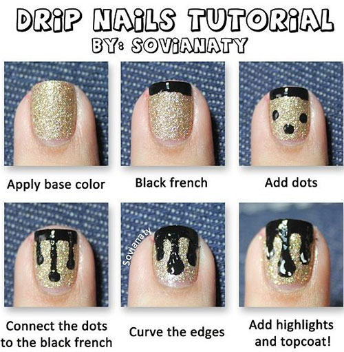 10-Easy-Acrylic-Nail-Art-Tutorials-For-Beginners-Learners-2014-6