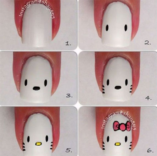 10-Easy-Acrylic-Nail-Art-Tutorials-For-Beginners-Learners-2014-9