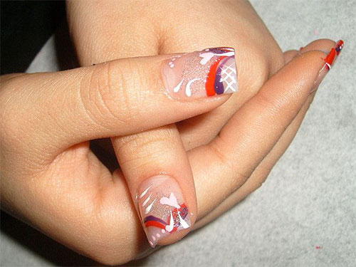 15-Simple-Acrylic-Nail-Art-Designs-Ideas-Trends-Stickers-2014-12
