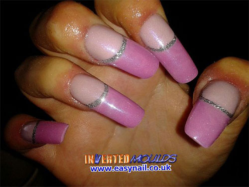 15-Simple-Acrylic-Nail-Art-Designs-Ideas-Trends-Stickers-2014-14