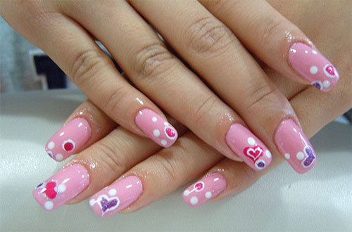 15-Simple-Acrylic-Nail-Art-Designs-Ideas-Trends-Stickers-2014-2