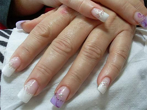 15-Simple-Acrylic-Nail-Art-Designs-Ideas-Trends-Stickers-2014-8