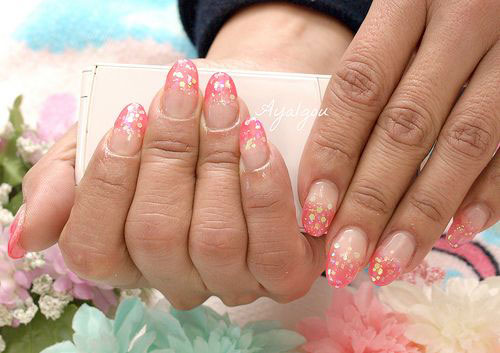 15-Simple-Acrylic-Nail-Art-Designs-Ideas-Trends-Stickers-2014-9