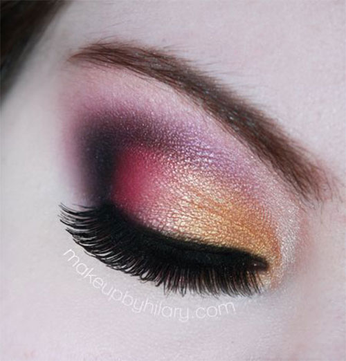 20-Best-Fall-Eye-Make-Up-Looks-Trends-Ideas-For-Girls-2014-15