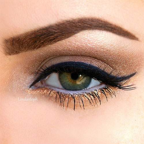 20-Best-Fall-Eye-Make-Up-Looks-Trends-Ideas-For-Girls-2014-2