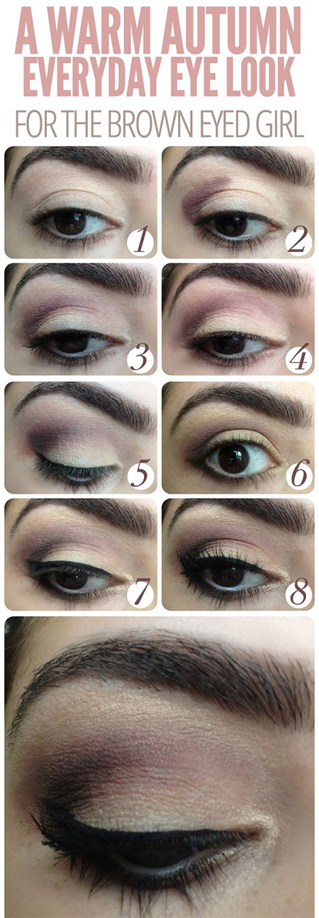 20-Easy-Fall-Make-Up-Tutorials-For-Beginners-Learners-2014-1