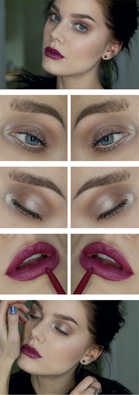 20-Easy-Fall-Make-Up-Tutorials-For-Beginners-Learners-2014-13