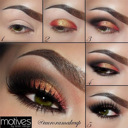 18  easy fall / autumn make up tutorials for beginners