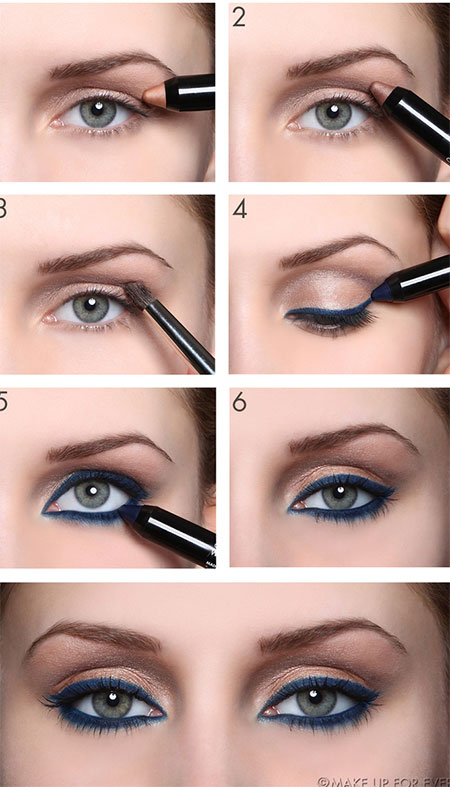 18 + Easy Fall / Autumn Make Up Tutorials For Beginners