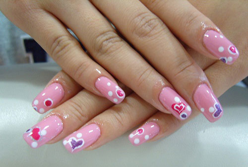30-Cool-Acrylic-Nail-Art-Designs-Ideas-Trends-Stickers-2014-1