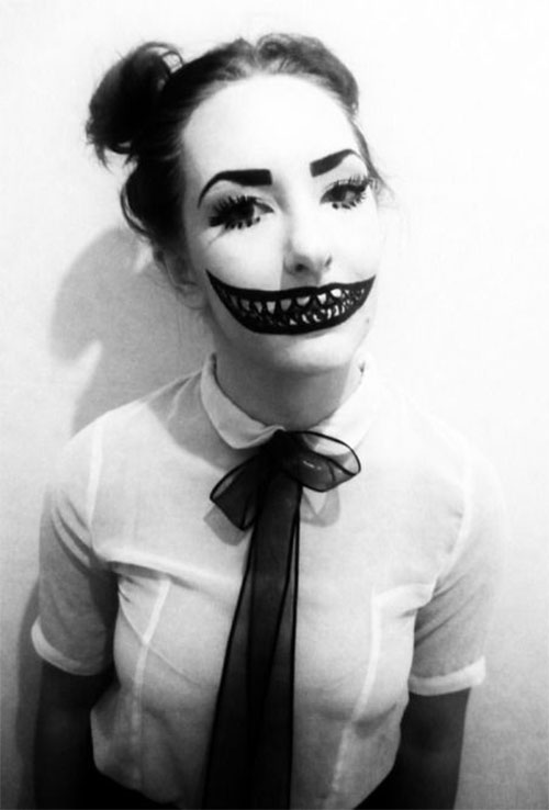 10 + Amazing Halloween Mouth Make Up Looks & Ideas For Girls 2014 ...