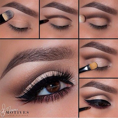 Step Up natural Make   Easy pictures Step step 12 by makeup Beginners Tutorials  By Eye 2014 For Natural step  with