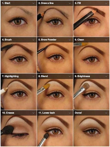 Easy Natural Eye Makeup For Brown Eyes | Cosmetics Pictranslator