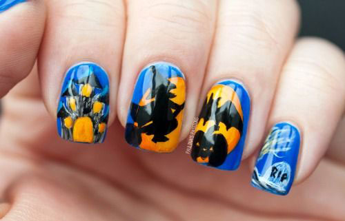 12-Halloween-Pumpkin-Nail-Art-Designs-Ideas-Trends-Stickers-2014-10