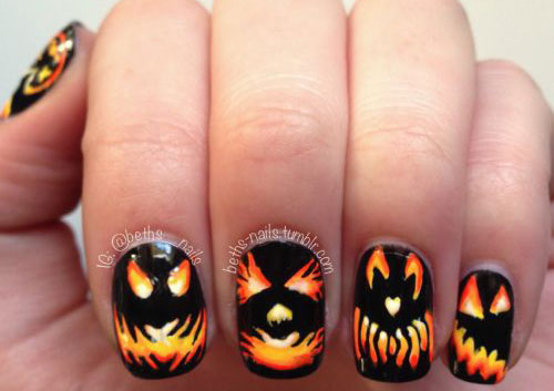 12-Halloween-Pumpkin-Nail-Art-Designs-Ideas-Trends-Stickers-2014-11