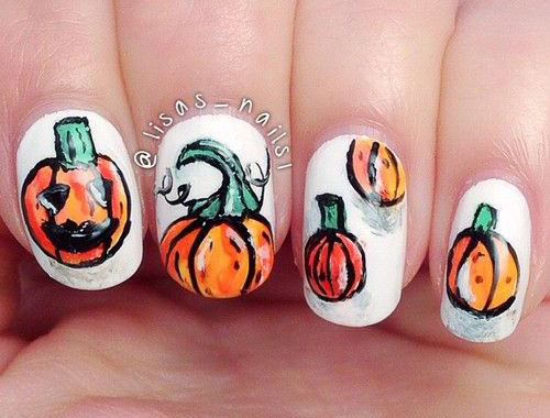 12-Halloween-Pumpkin-Nail-Art-Designs-Ideas-Trends-Stickers-2014-12